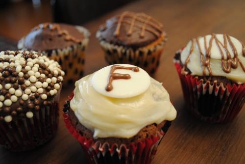 cupcakes de aniversário
